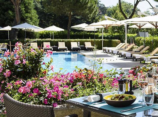 Beau-Rivage Palace Hotel - Ô Terrasse - Lausanne, Switzerland